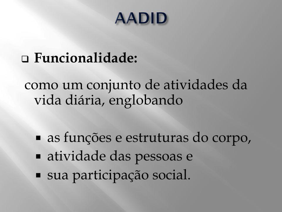 AADID Funcionalidade: