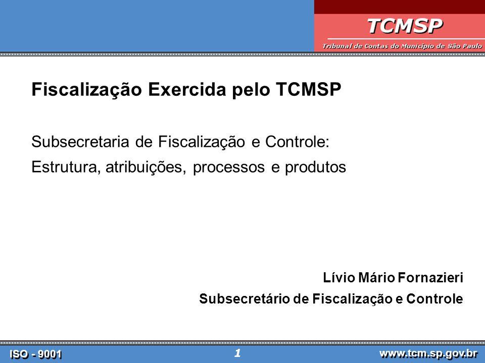 Fiscalização Exercida pelo TCMSP