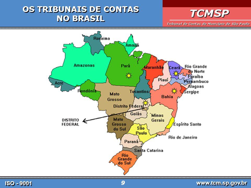 OS TRIBUNAIS DE CONTAS NO BRASIL