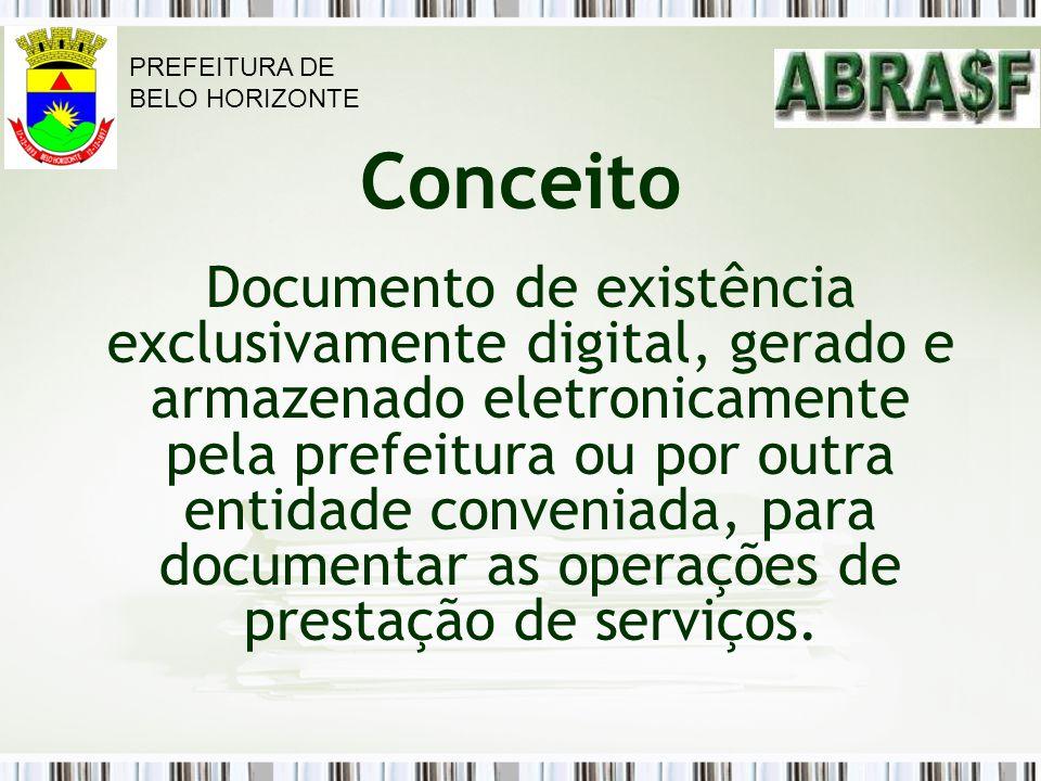PREFEITURA DE BELO HORIZONTE. Conceito.