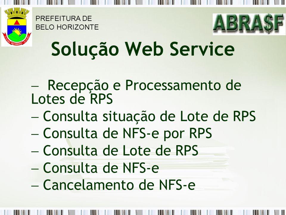 Recepção e Processamento de Lotes de RPS