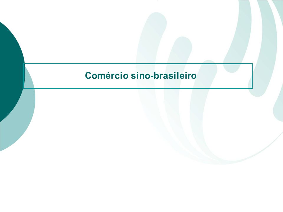Comércio sino-brasileiro