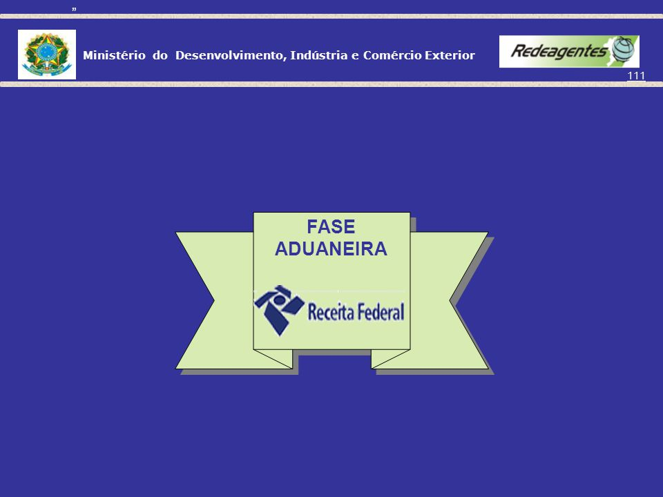 FASE ADUANEIRA