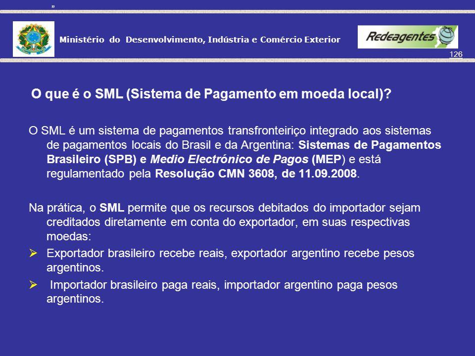 O que é o SML (Sistema de Pagamento em moeda local)