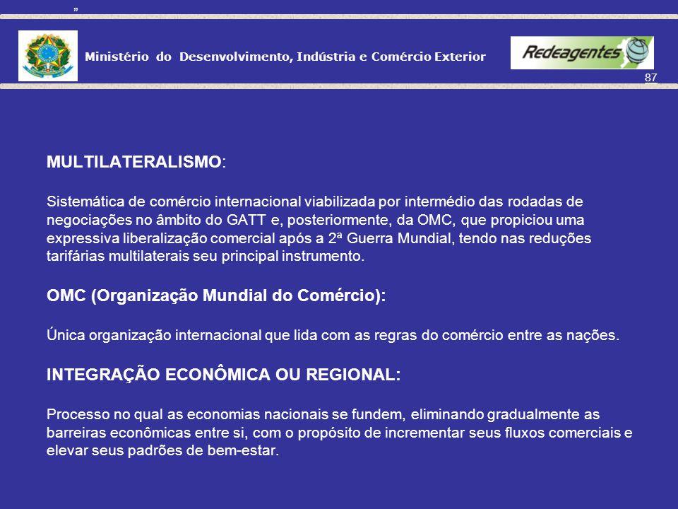 ACORDOS INTERNACIONAIS DE COMÉRCIO
