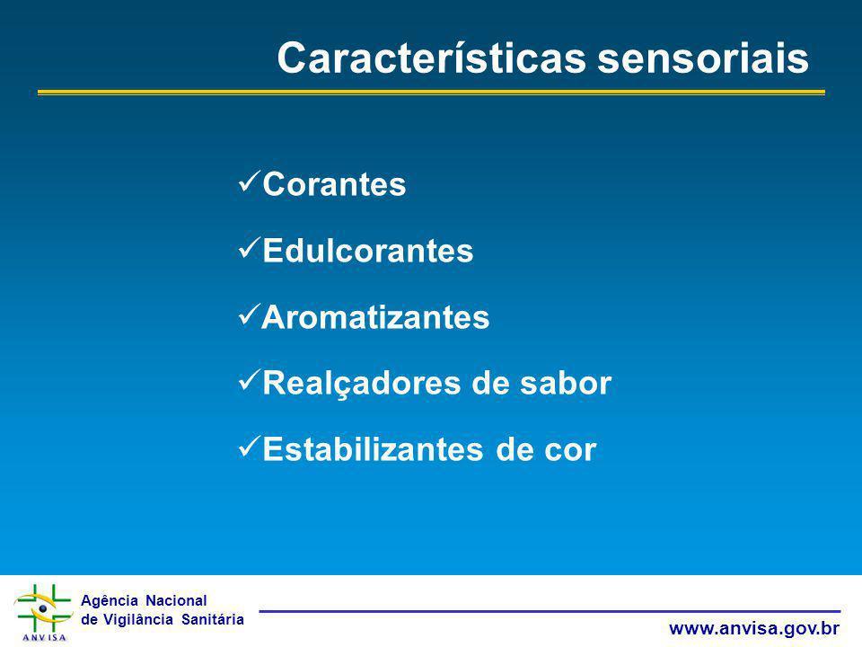 Características sensoriais