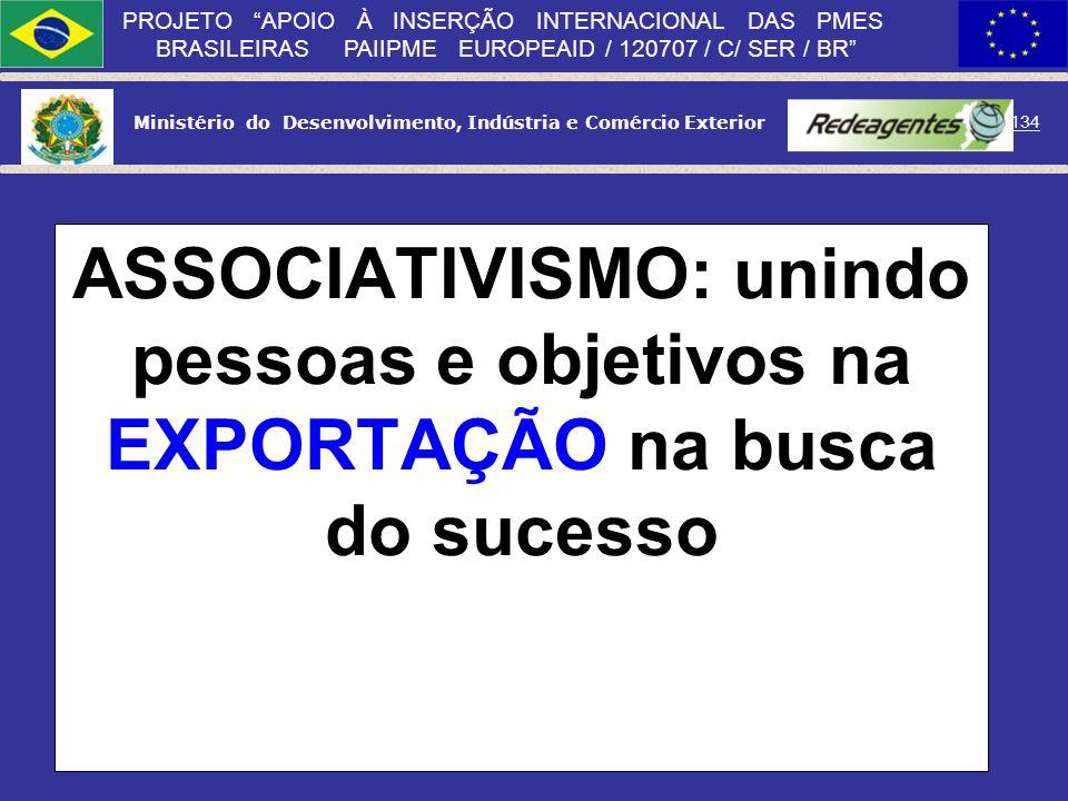 ASSOCIATIVISMO: unindo pessoas e objetivos na EXPORTAÇÃO na busca do sucesso