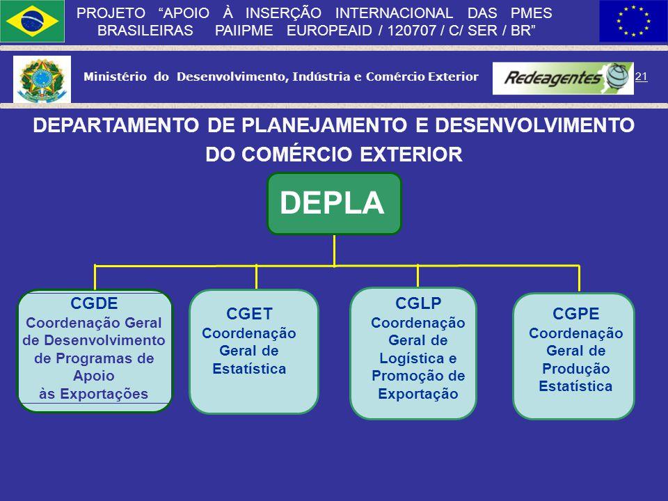DEPLA DEPARTAMENTO DE PLANEJAMENTO E DESENVOLVIMENTO
