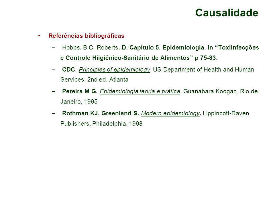 Causalidade Referências bibliográficas