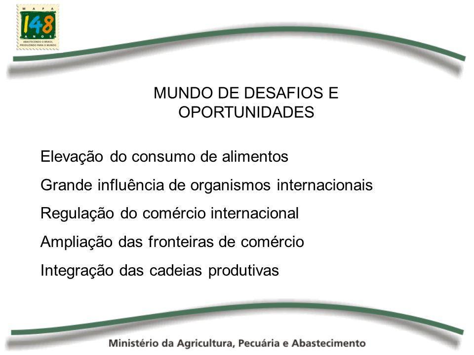 MUNDO DE DESAFIOS E OPORTUNIDADES