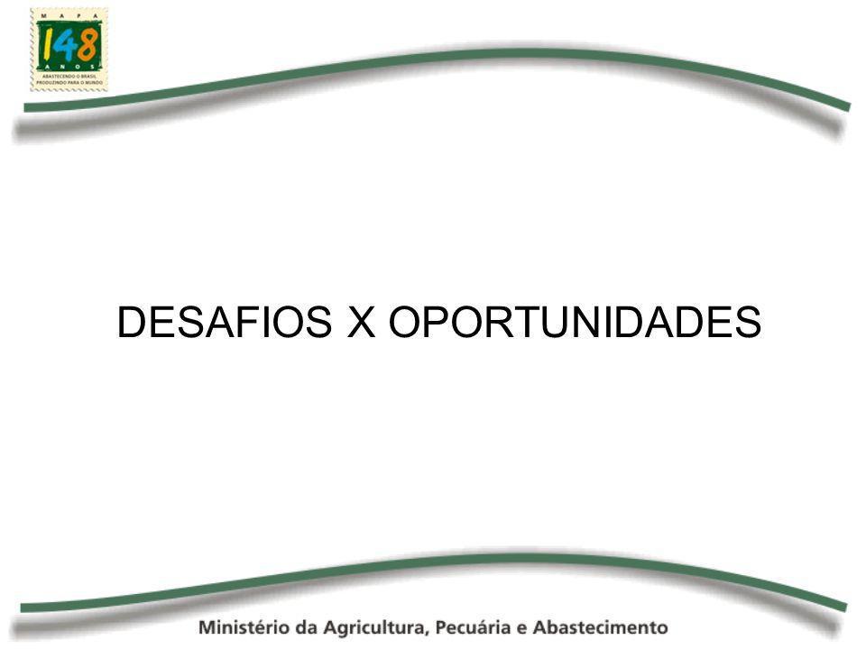 DESAFIOS X OPORTUNIDADES