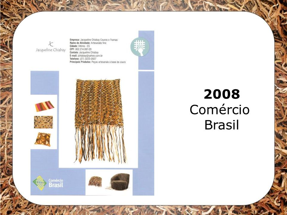 2008 Comércio Brasil