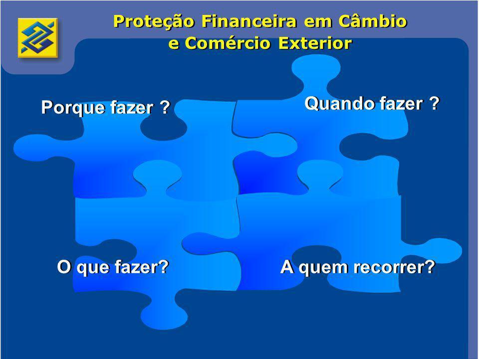 Proteção Financeira em Câmbio e Comércio Exterior