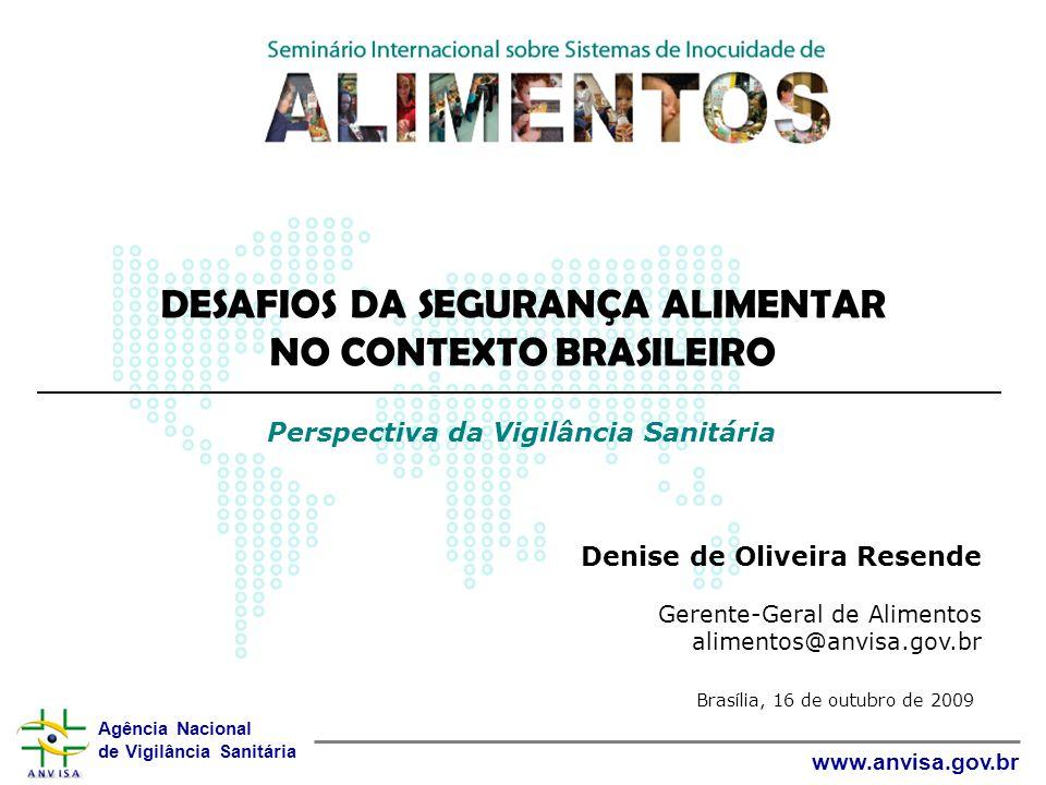 DESAFIOS DA SEGURANÇA ALIMENTAR