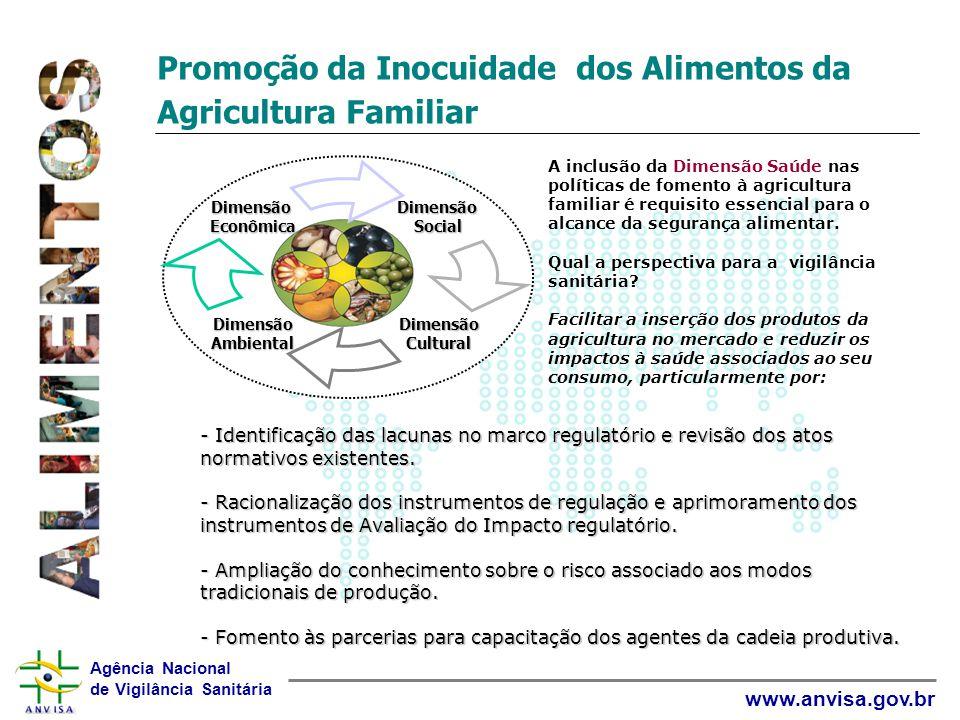 Promoção da Inocuidade dos Alimentos da Agricultura Familiar