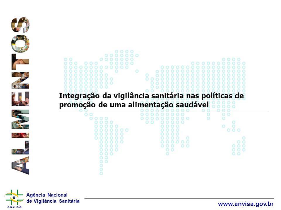 Integração da vigilância sanitária nas políticas de promoção de uma alimentação saudável
