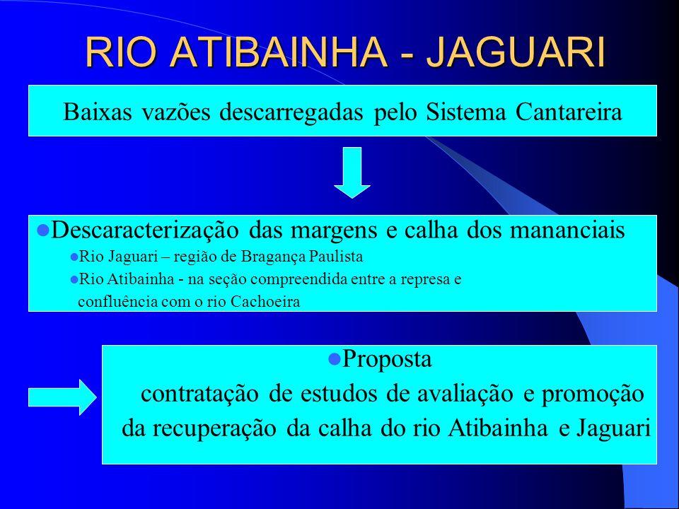 RIO ATIBAINHA - JAGUARI