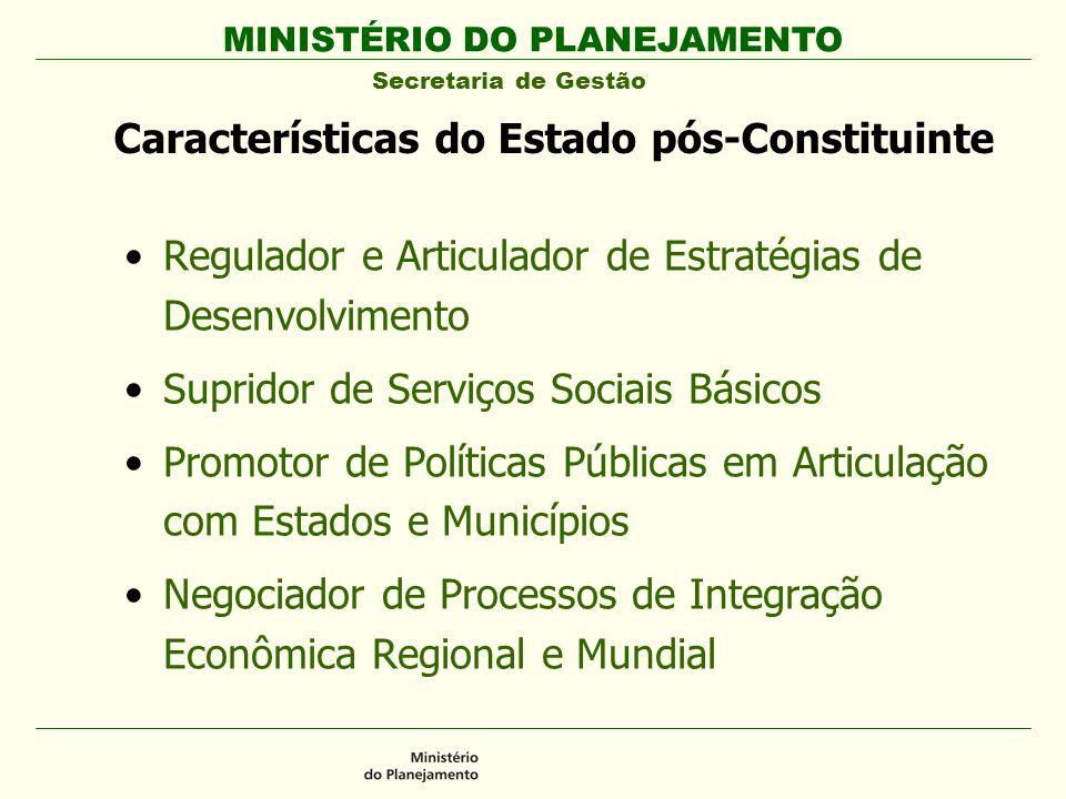 Características do Estado pós-Constituinte