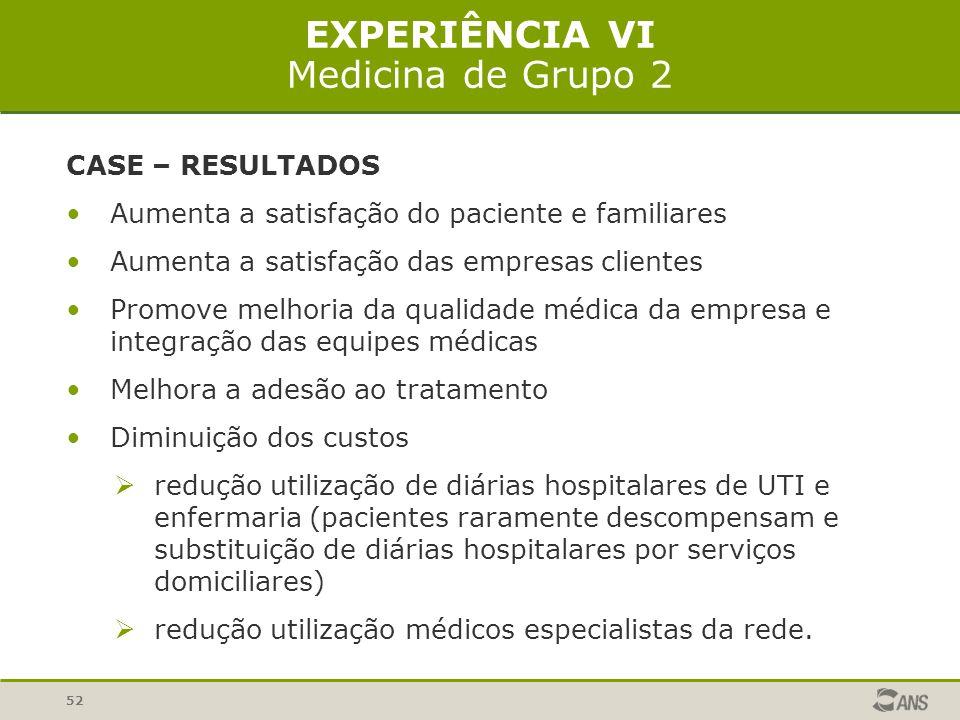 EXPERIÊNCIA VI Medicina de Grupo 2