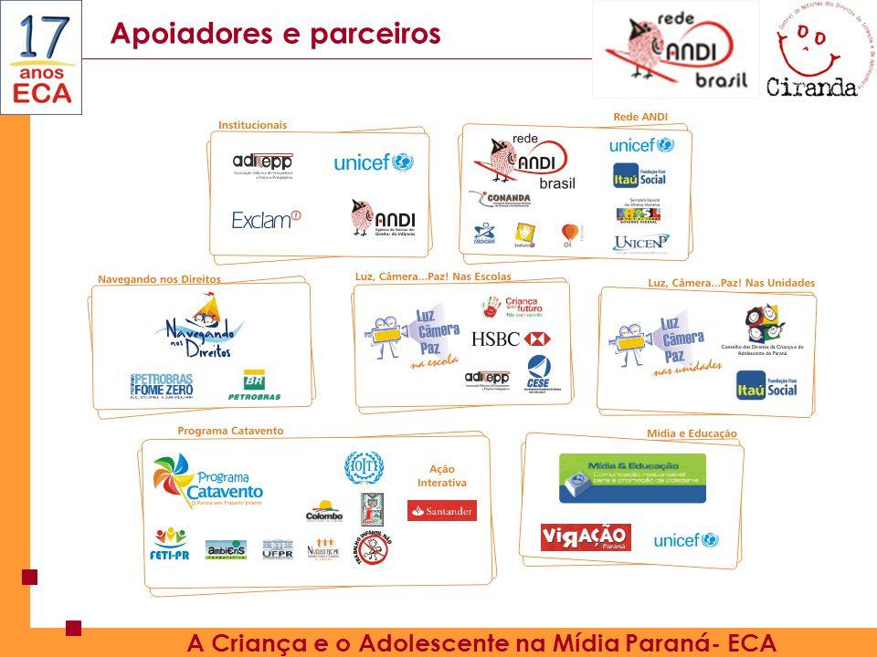 A Criança e o Adolescente na Mídia Paraná- ECA
