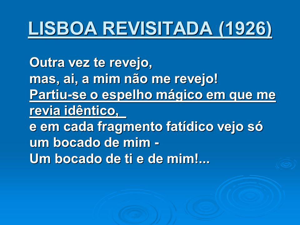 LISBOA REVISITADA (1926)