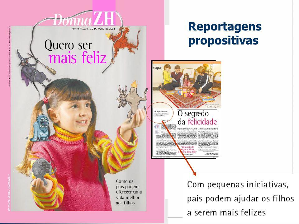 Reportagens propositivas