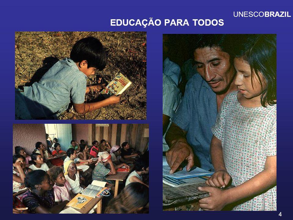 EDUCAÇÃO PARA TODOS UNESCOBRAZIL