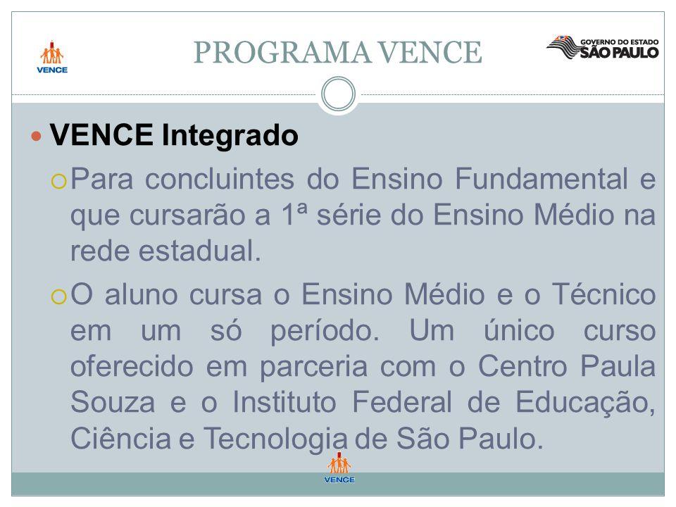 PROGRAMA VENCE VENCE Integrado