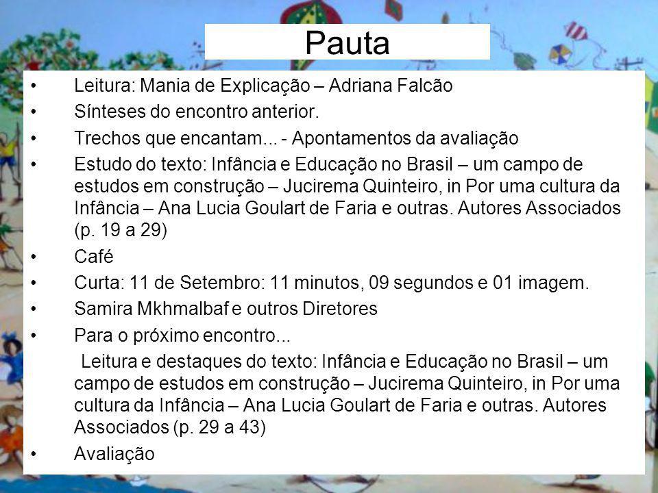 Pauta Leitura: Mania de Explicação – Adriana Falcão