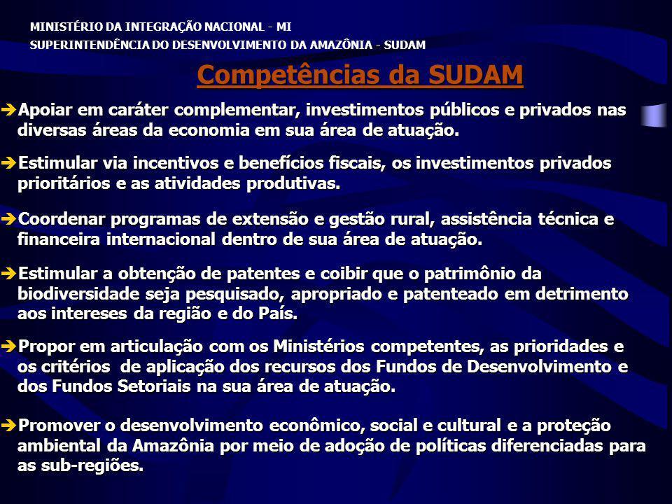 MINISTÉRIO DA INTEGRAÇÃO NACIONAL - MI