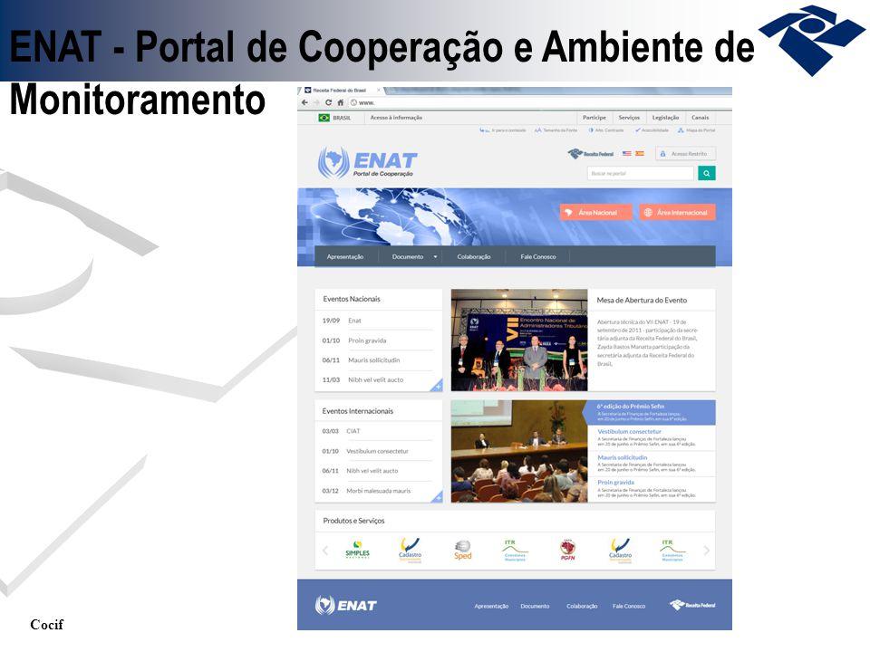 ENAT - Portal de Cooperação e Ambiente de Monitoramento