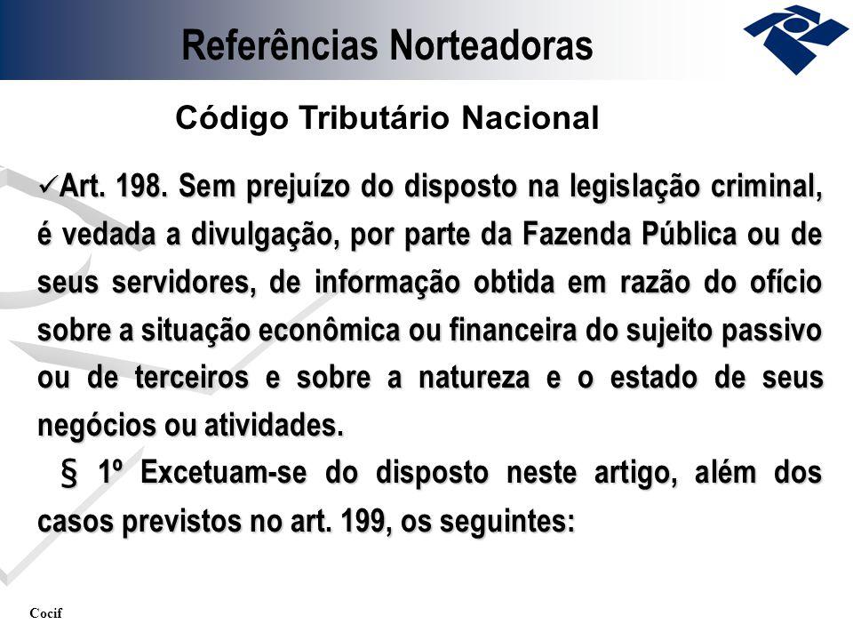 Referências Norteadoras Código Tributário Nacional