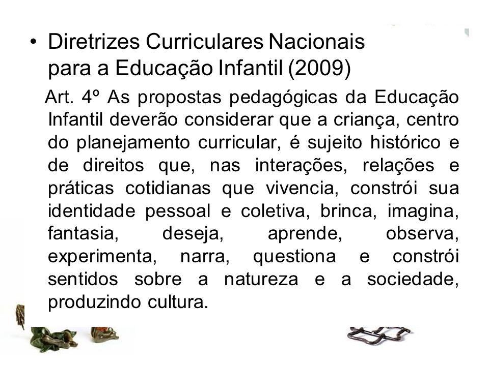 Diretrizes Curriculares Nacionais para a Educação Infantil (2009)