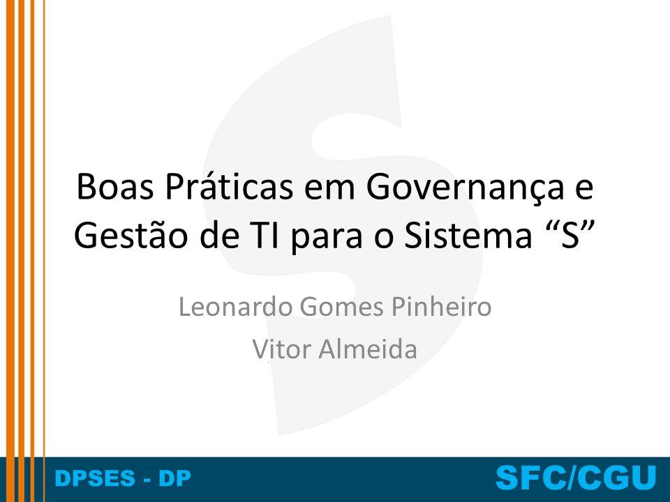 Boas Práticas em Governança e Gestão de TI para o Sistema S