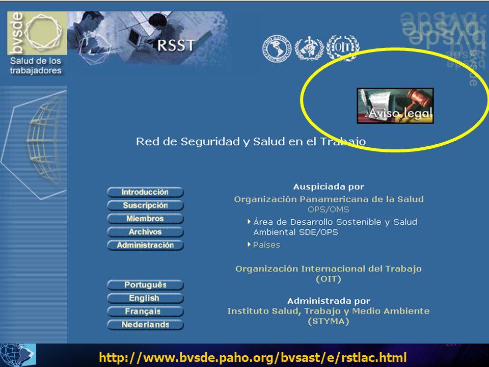 http://www.bvsde.paho.org/bvsast/e/rstlac.html