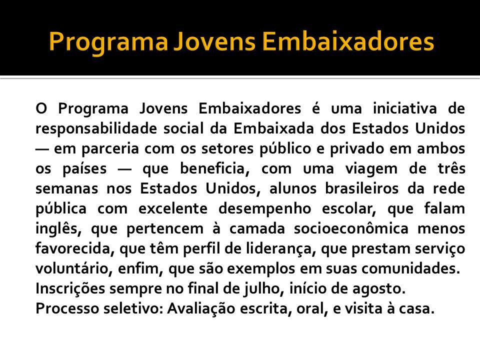 Programa Jovens Embaixadores
