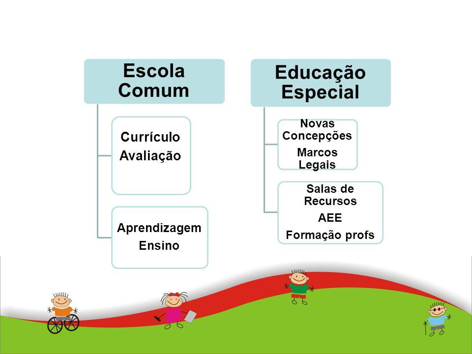 Currículo Avaliação Salas de Recursos Novas Concepções Marcos Legais