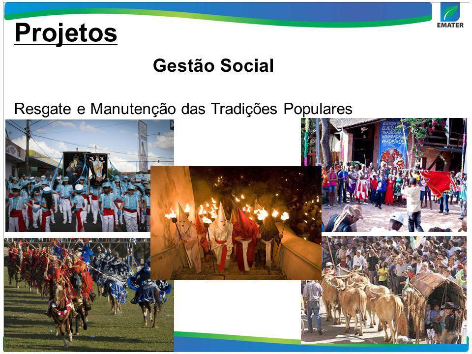 Projetos Gestão Social Resgate e Manutenção das Tradições Populares