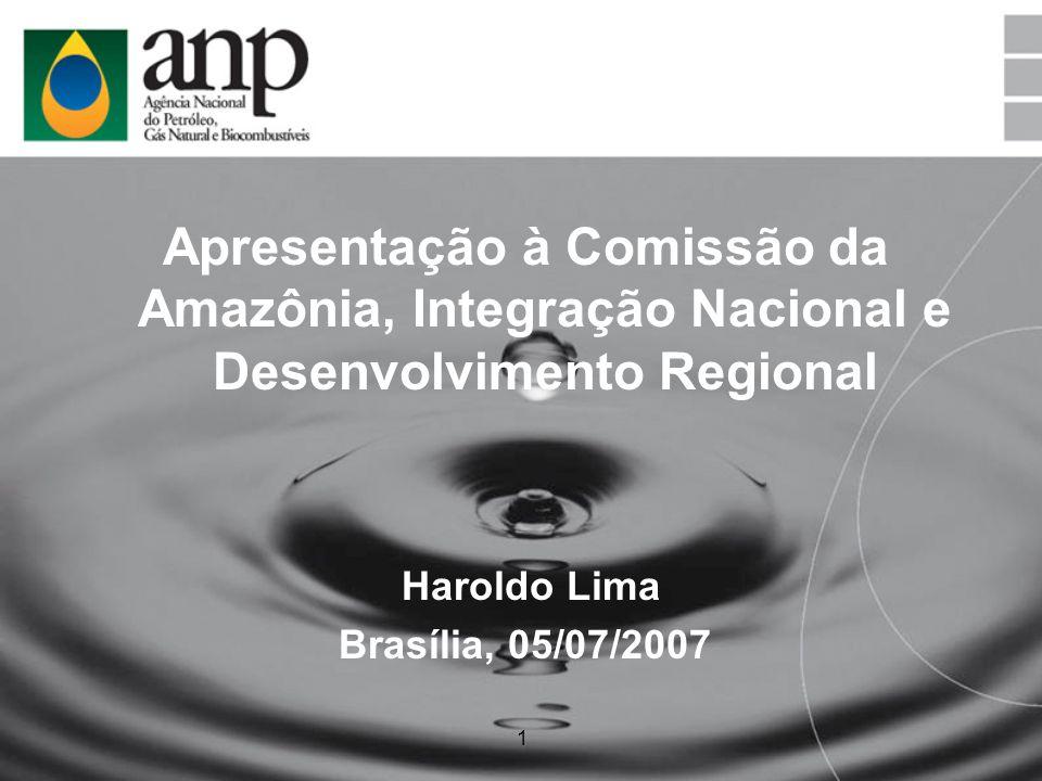 Apresentação à Comissão da Amazônia, Integração Nacional e Desenvolvimento Regional
