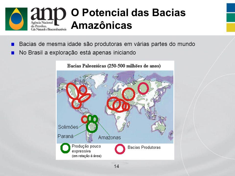 O Potencial das Bacias Amazônicas