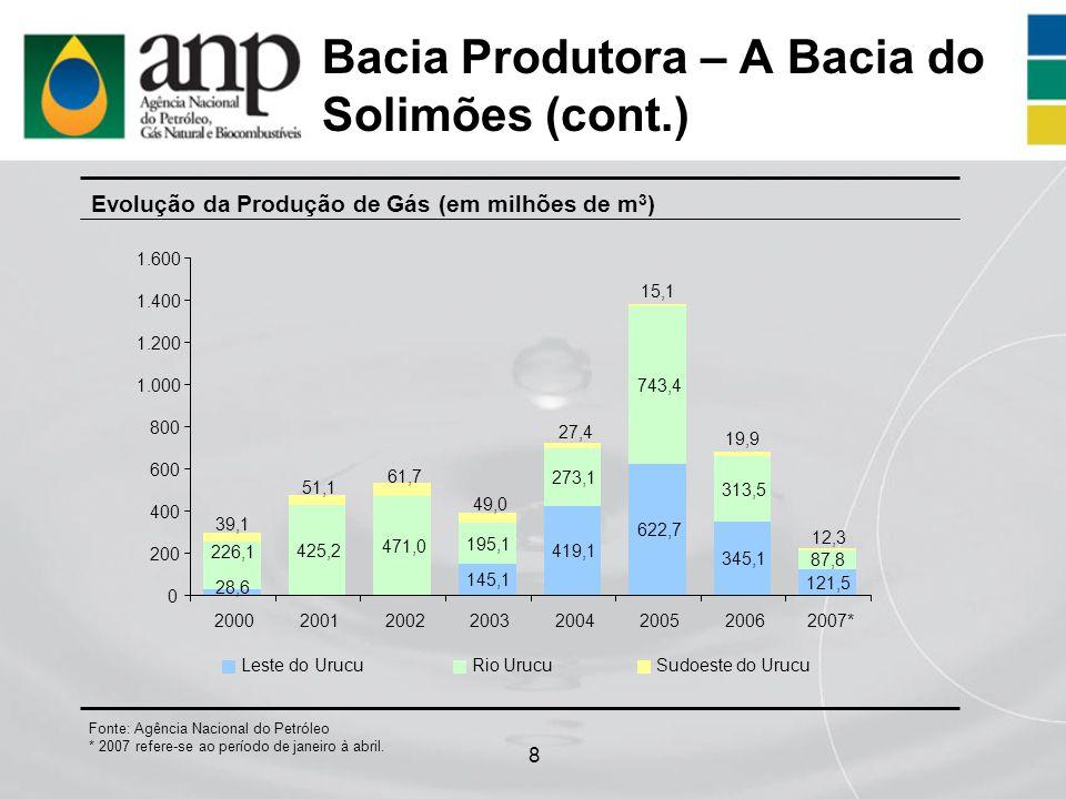 Bacia Produtora – A Bacia do Solimões (cont.)
