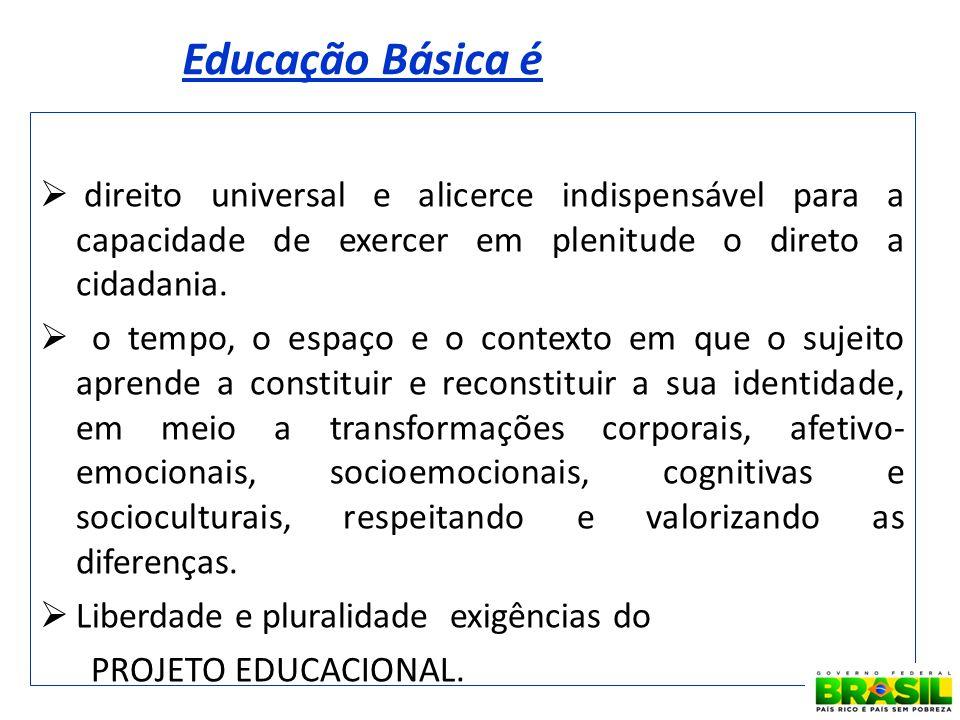 Educação Básica é direito universal e alicerce indispensável para a capacidade de exercer em plenitude o direto a cidadania.