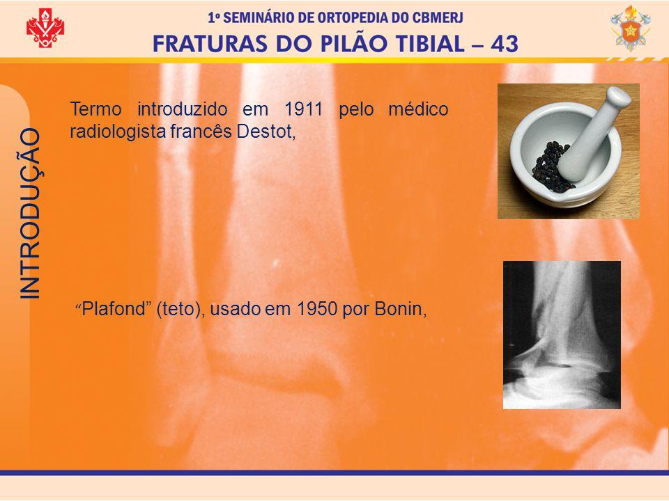 Termo introduzido em 1911 pelo médico radiologista francês Destot,