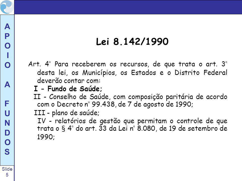 Lei 8.142/1990