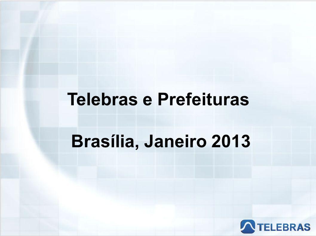 Telebras e Prefeituras