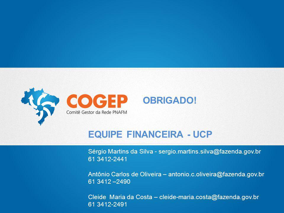 EQUIPE FINANCEIRA - UCP