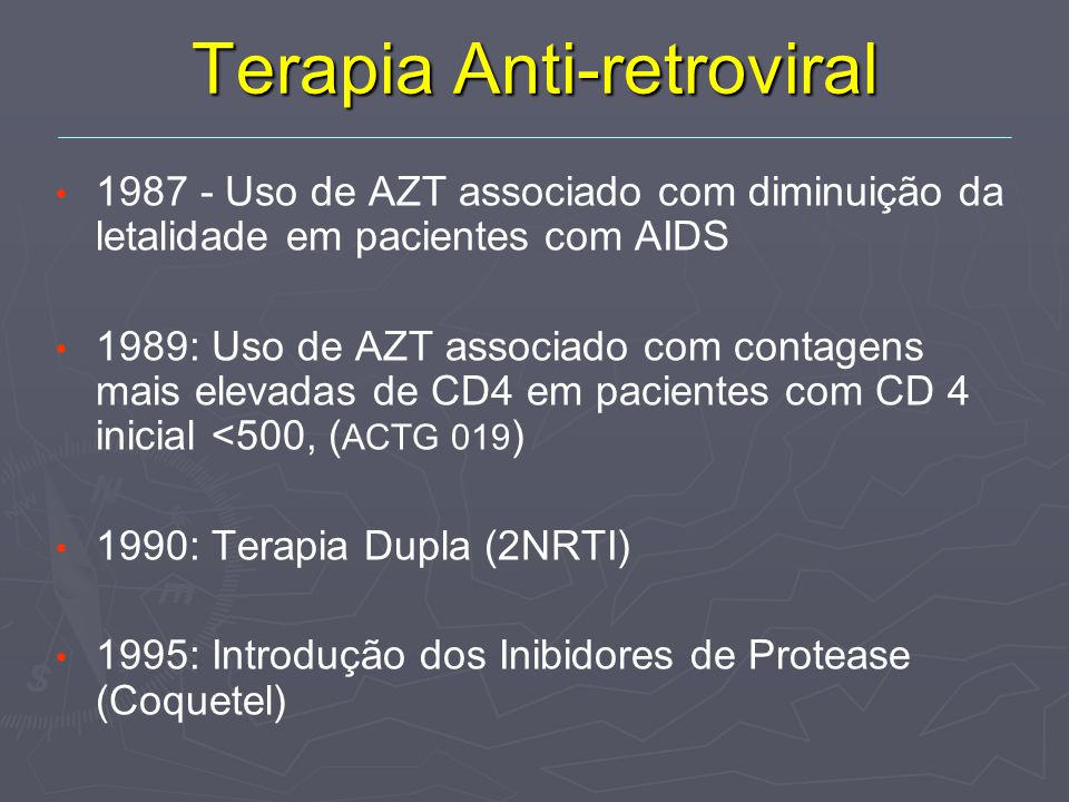 Terapia Anti-retroviral