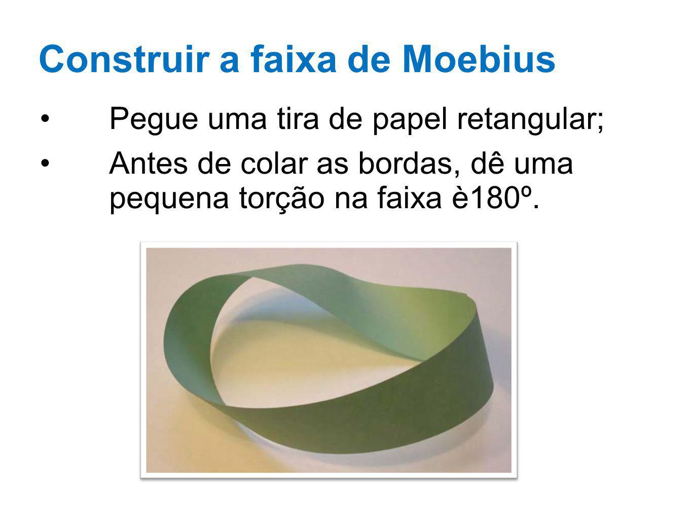 Construir a faixa de Moebius