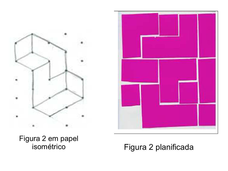 Figura 2 em papel isométrico