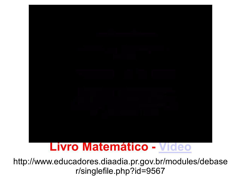 Livro Matemático - Vídeo